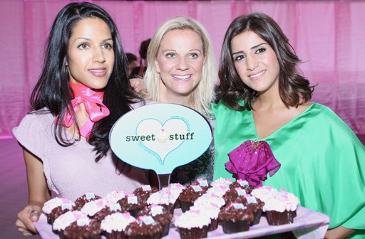 Danielle Wilson with Aiisha and the Sweet Stuff at the event