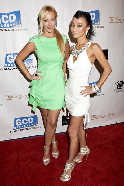 Liz Fuller in AIISHA with Bai Ling