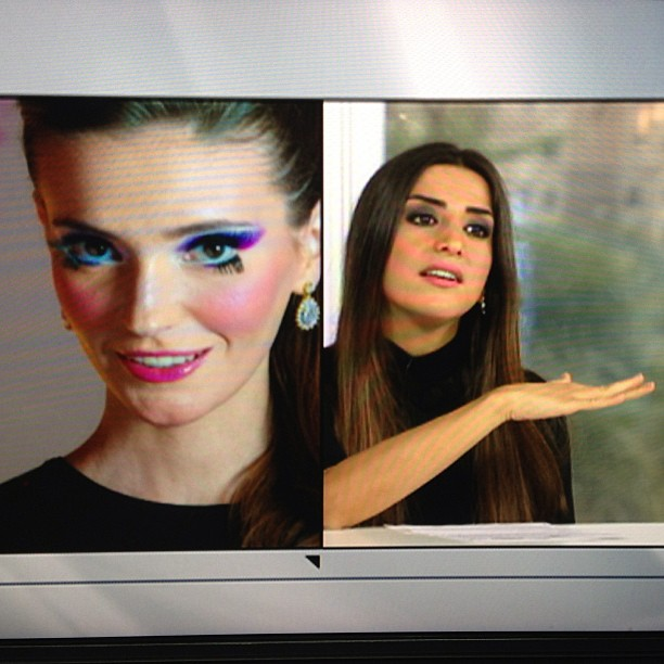 Aiisha Ramadan talking about Ange's makeup