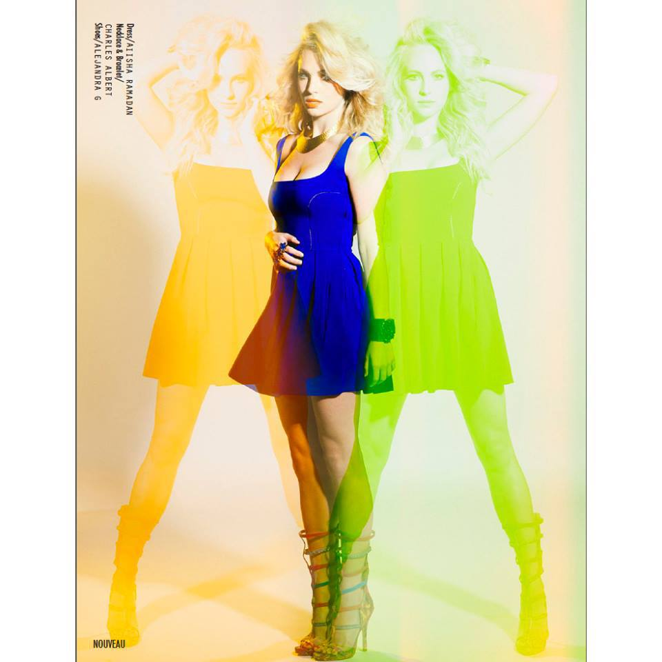 Candice Accola wears I by Aiisha